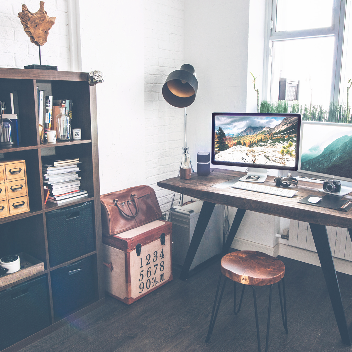 work-space